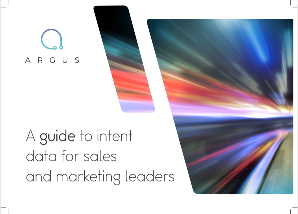 A guide to intent data for sales and marketing leaders