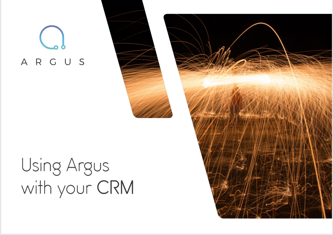 Using Argus with your CRM