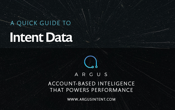 A Quick Guide to Intent Data